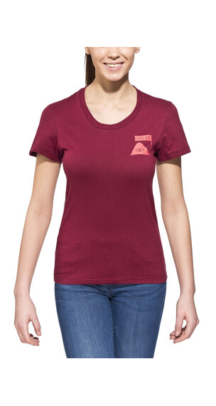 POLER Summit t-shirt Dames rood